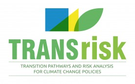 TRANSrisk Transitions Pathways and Risk Analysis for Climate Change Mitigation and Adaption Strategies